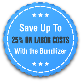 Save Up To 25% on Labor Costs With the Bundlizer!